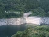 冨郷ダムの水位