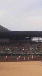 恒例の高松でのオープン戦阪神を観てきた