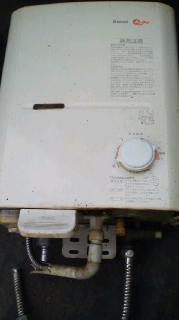 四国中央市内で壊れたり不用なガス給湯器・湯沸かし器出張買取