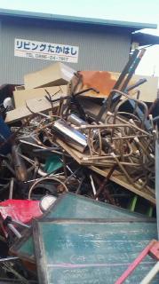 四国中央市の鉄スクラップや不用な金属製品の処分は持ち込み無料回収場を利用してください