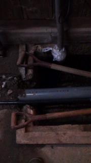 下水切り替え工事水洗トイレ工事 器具仮付け