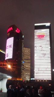 上海の夜景は綺麗