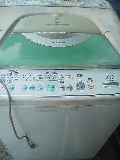 格安  Bクラス中古品 日立全自動洗濯機 2000円